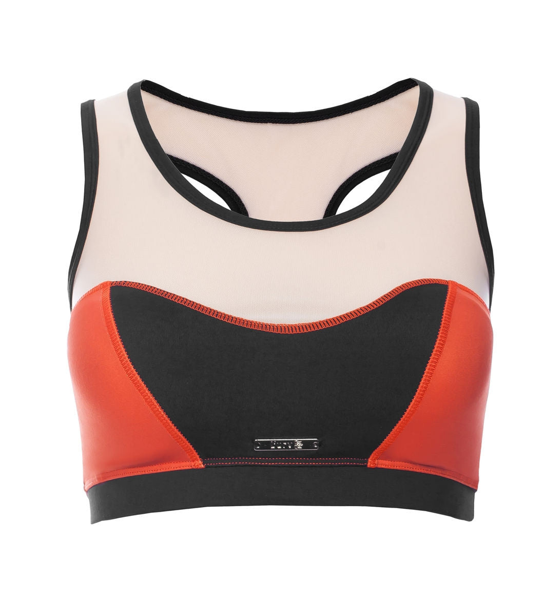 L'urv She's a goddess rød Sports BH - myactivestyle.no