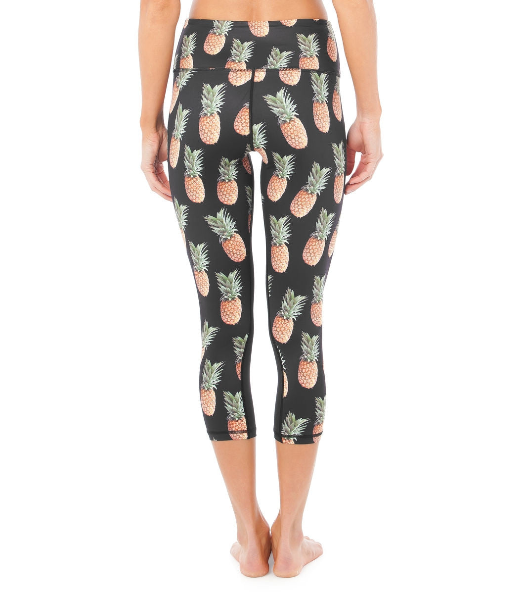 L'urv Pineapple juice 3/4 Tights - myactivestyle.no