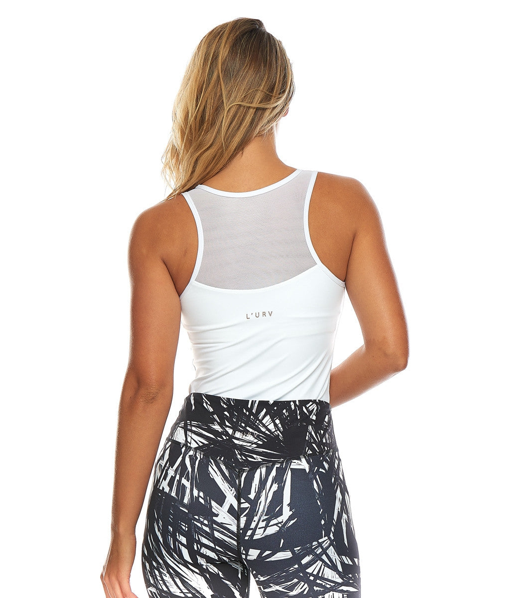 L'urv Now and then hvit Topper - myactivestyle.no