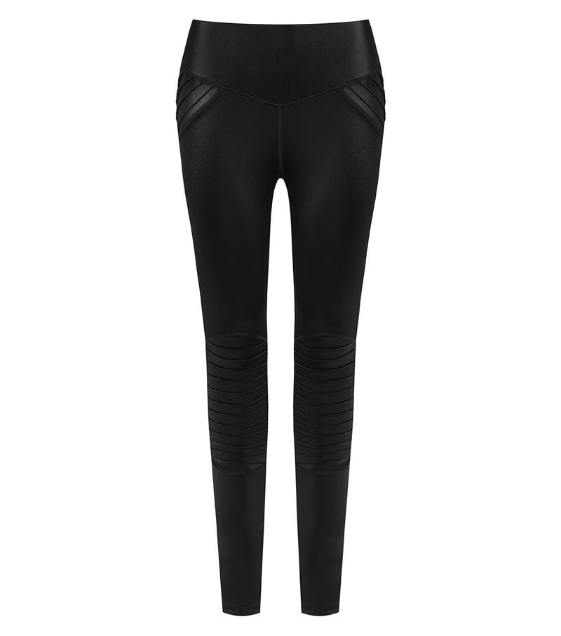 L'urv leather lust moto Tights - myactivestyle.no