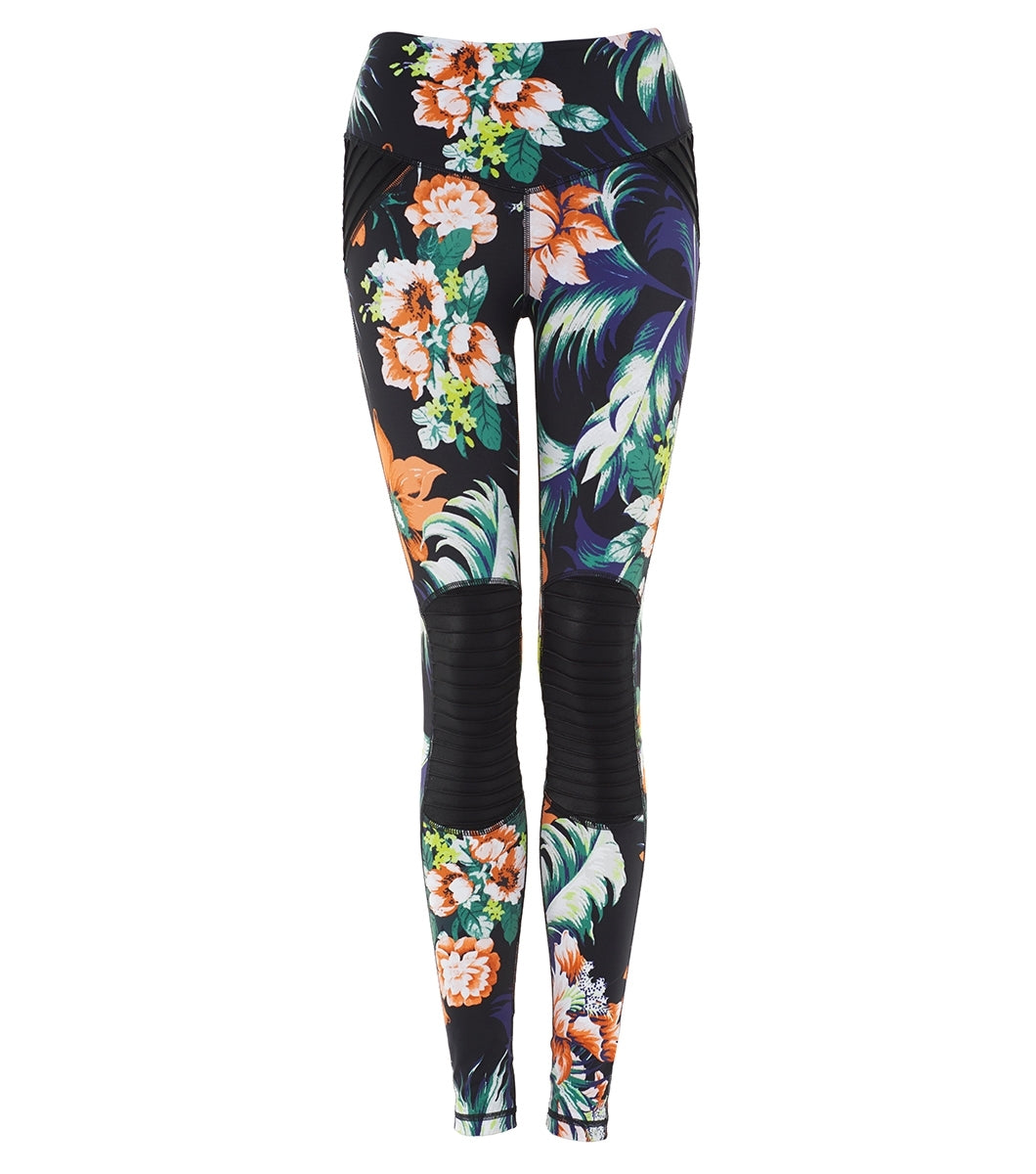 L'urv floral funk moto Tights - myactivestyle.no