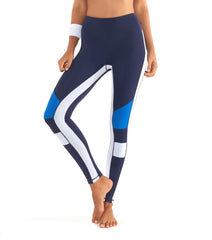 L'urv burn it up blå Tights - myactivestyle.no