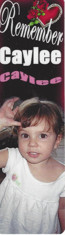 Caylee Anthony Remember Caylee Bookmark Calendar