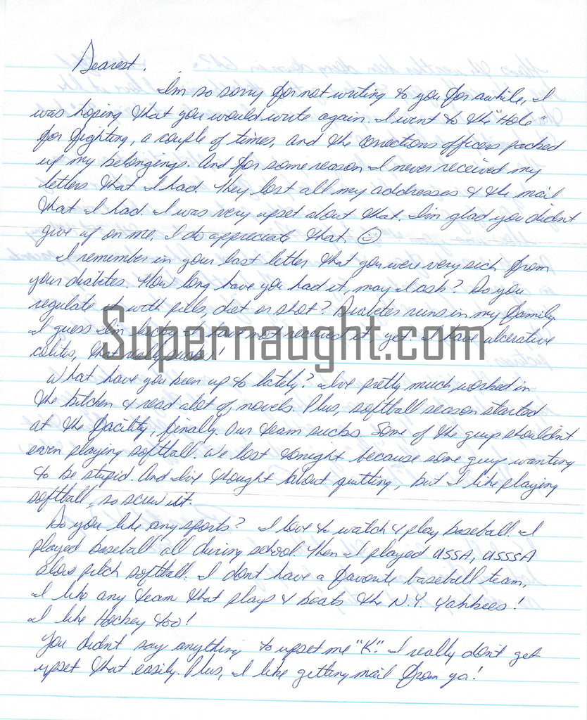 John Eric Armstrong letters