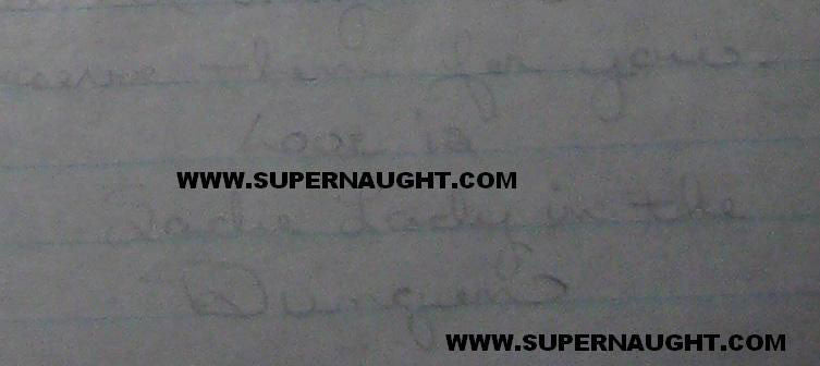 Susan Atkins letter from 1970 signed Sadie Lady In The Dungeon - Supernaught True Crime Collectibles
