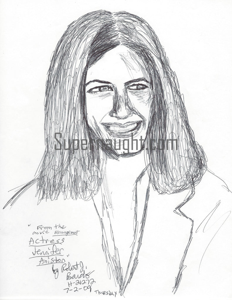 Robert Bardo Actress Jennifer Aniston Portrait