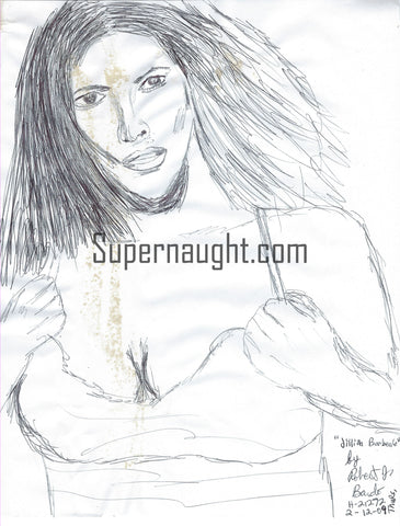Robert Bardo Jillian Barberie Drawing Signed