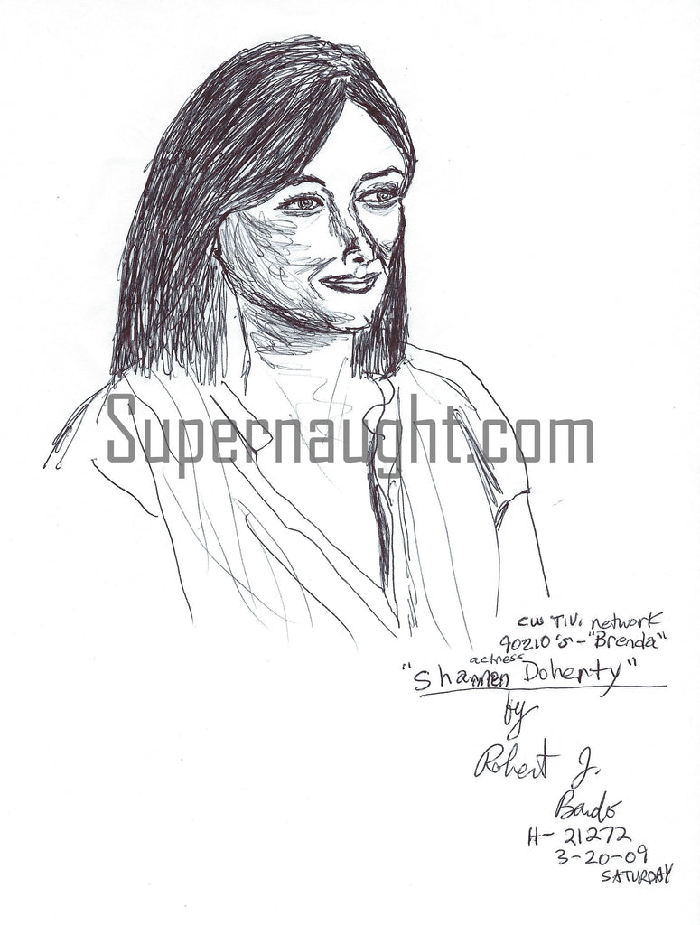 Shannen Doherty Drawing