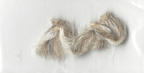 Herbert Baumeister carpet fibers from his Fox Hollow Farm Estate - Supernaught True Crime Collectibles