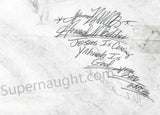 Howard Belcher Yahweh signed serial killer prison drawing