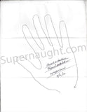 Howard Belcher both hand tracings signed - Supernaught True Crime Collectibles - 2