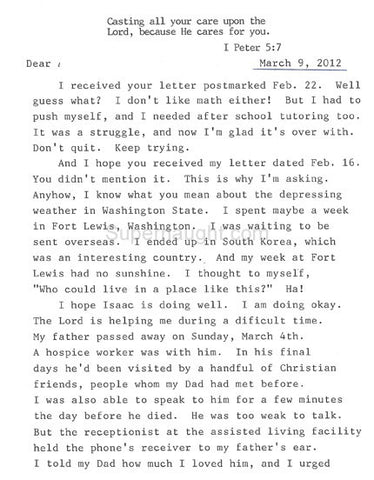 David Berkowitz prison letter son of sam new york