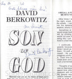 David Berkowitz Son of God Signed Pamphlet - Supernaught True Crime Collectibles - 3