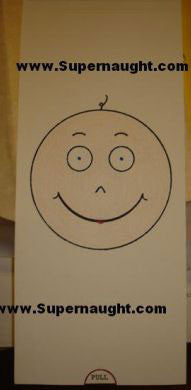 Lawrence Bittaker smiley face pop up card signed - Supernaught True Crime Collectibles