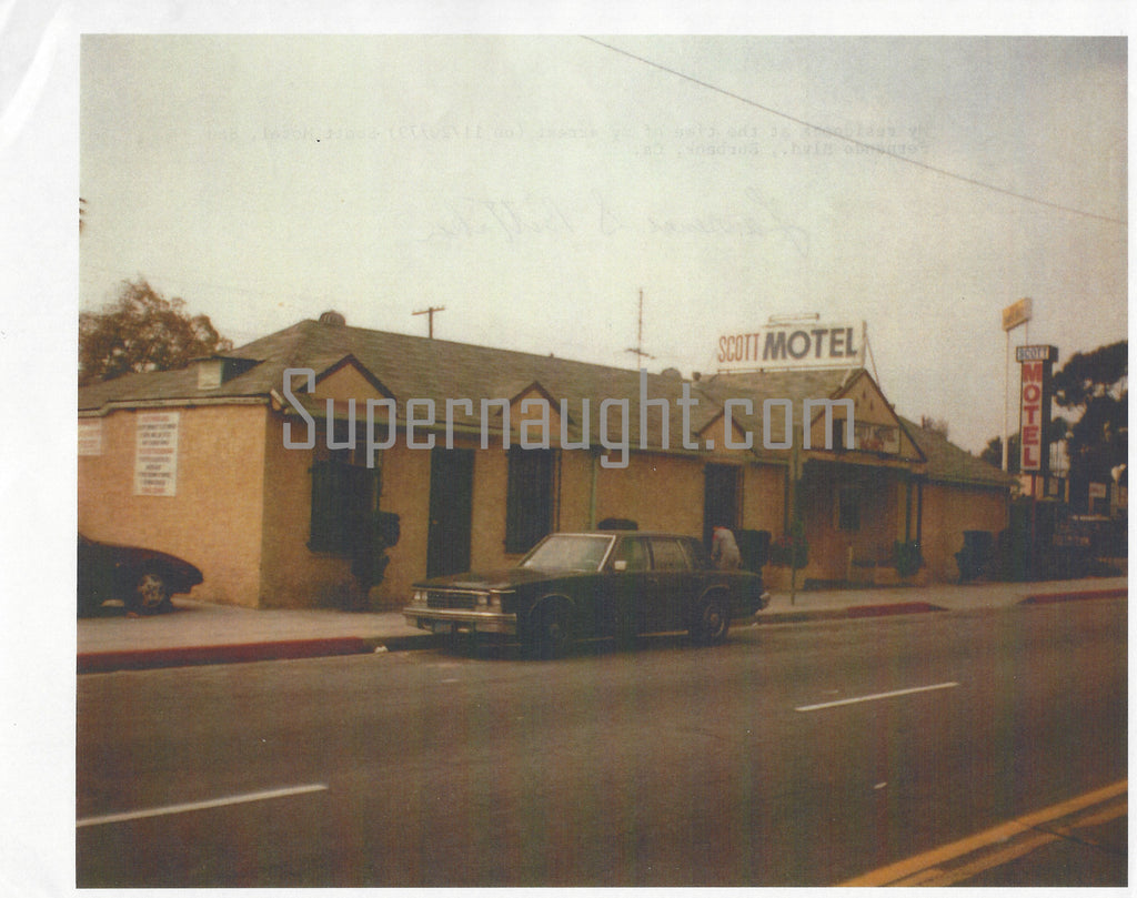 Lawrence Bittaker Scott Motel Signed Photo