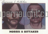 Lawrence Bittaker True Crime Trading Card Copy Signed