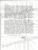 Ted Bundy letter signed county jail serial killer culture