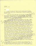 Ted Bundy July 1978 two page letter signed and envelope set - Supernaught True Crime Collectibles - 1