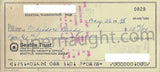 Ted Bundy 1978 County Jail Check Signed Ted Bundy Theodore - Supernaught True Crime Collectibles - 2