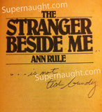 Ted Bundy The Stranger Beside Me book signed - Supernaught True Crime Collectibles - 3