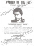 Ted Bundy Serial Killer Wanted Poster Copies