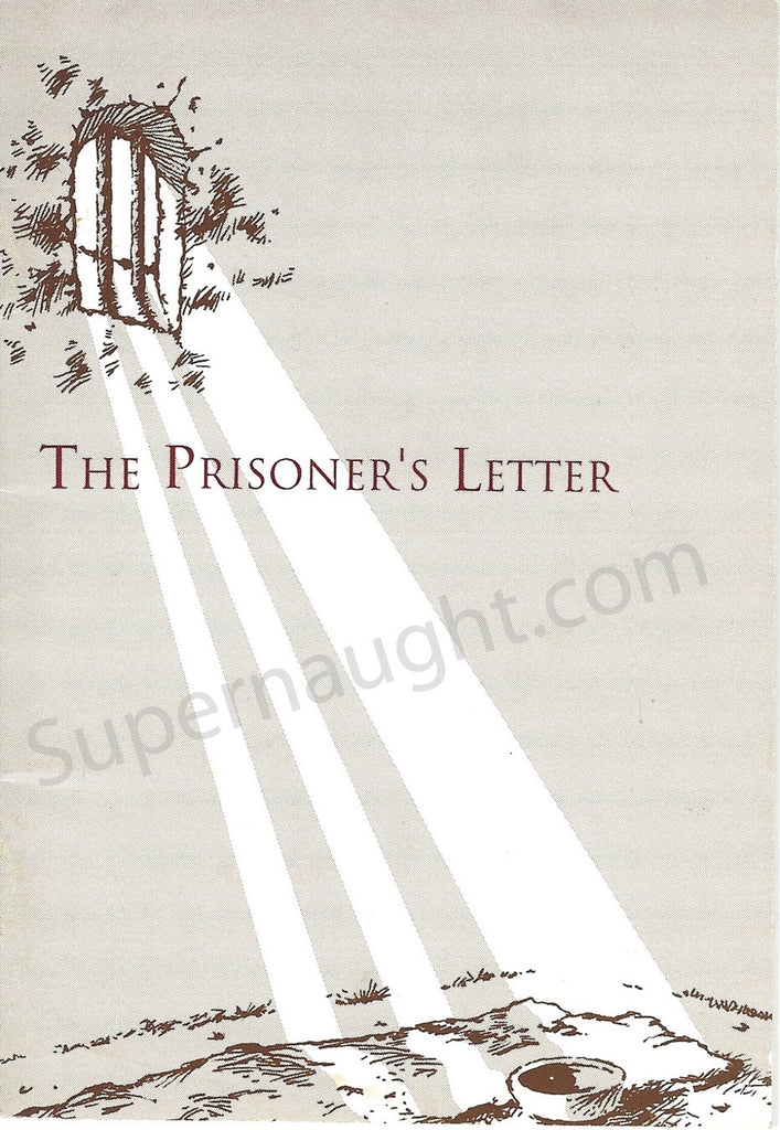 Mark David Chapman The Prisoner's Letter Booklet - Supernaught True Crime Collectibles