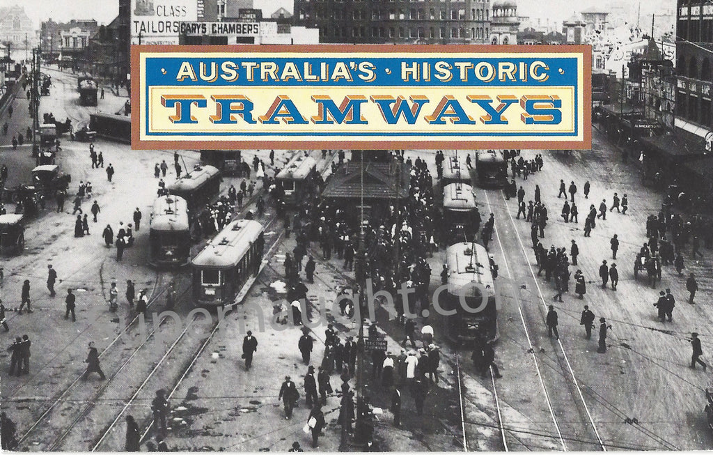 Mark David Chapman Australia Historic Tramways Kemp Land 3 Stamps - Supernaught True Crime Collectibles - 1