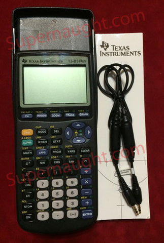Seung-Hui Cho Texas Instruments TI 83 Plus - Supernaught True Crime Collectibles