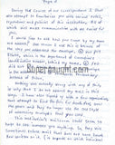 Nathaniel Code three page letter signed