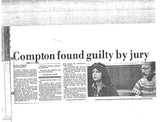 Veronica Compton 33 Pages of Press Articles