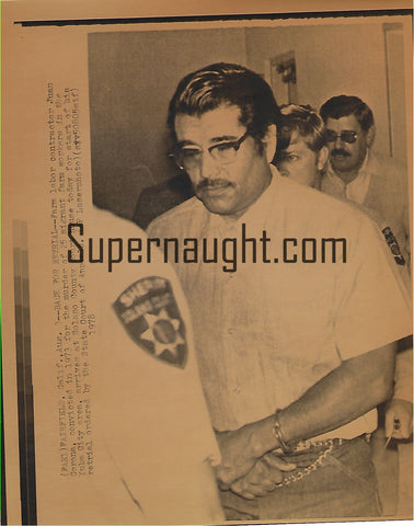 Juan Vallejo Corona 1978 Press Photo