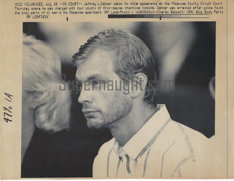 Jeffrey Dahmer Press Photo