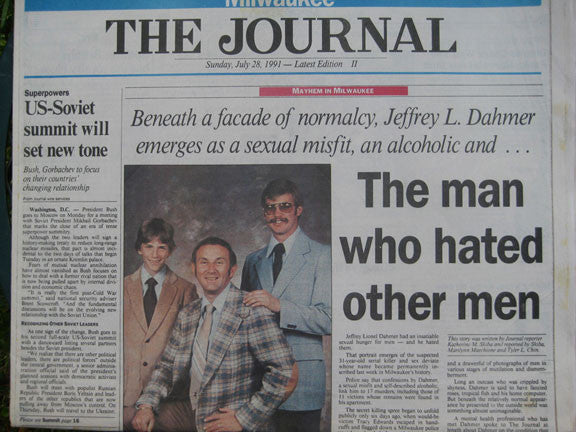 Jeffrey Dahmer Milwaukee Journal July 1991