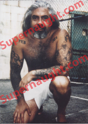 Richard Allen Davis death row yard photo - Supernaught True Crime Collectibles