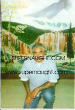 Richard Allen Davis photo taken on death row - Supernaught True Crime Collectibles