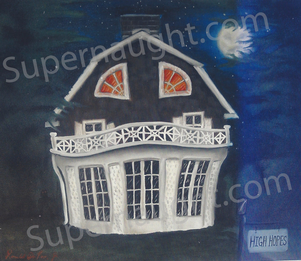 Ronald DeFeo Amityville Horror House Painting Photo