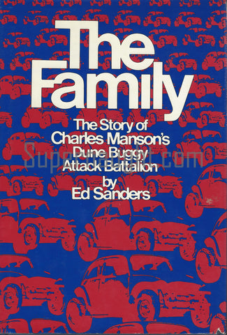 The Family Ed Sanders Harcover 1971 First Edition Infamous Chapter 5 on The Process Church