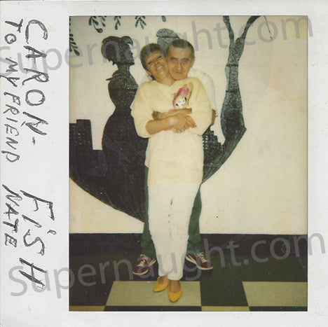 Joseph Fischer prison Polaroid signed Fish - Supernaught True Crime Collectibles