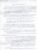 Michel Fourniret two page letter signed twice - Supernaught True Crime Collectibles - 1