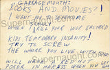 John Wayne Gacy 1980 Postcard Threatening his Attorney - Supernaught True Crime Collectibles - 1