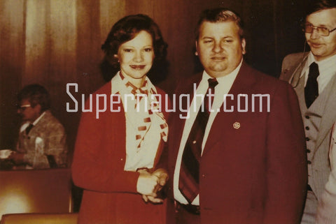 John Wayne Gacy with First Lady Rosalynn Carter Photo