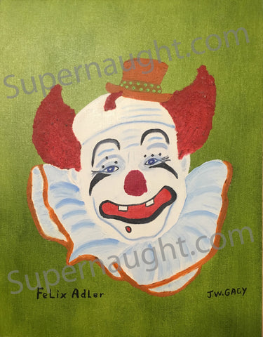 john wayne gacy felix adler painting signed serial killer