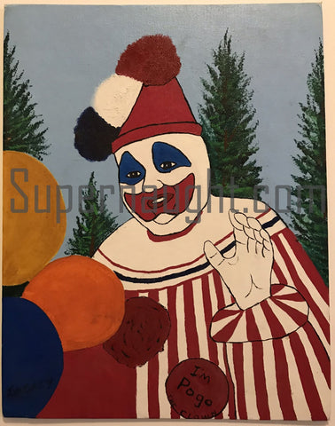 John Wayne Gacy Clown Paintings