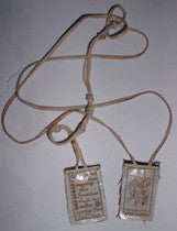John Wayne Gacy his personal religious badge scapular - Supernaught True Crime Collectibles