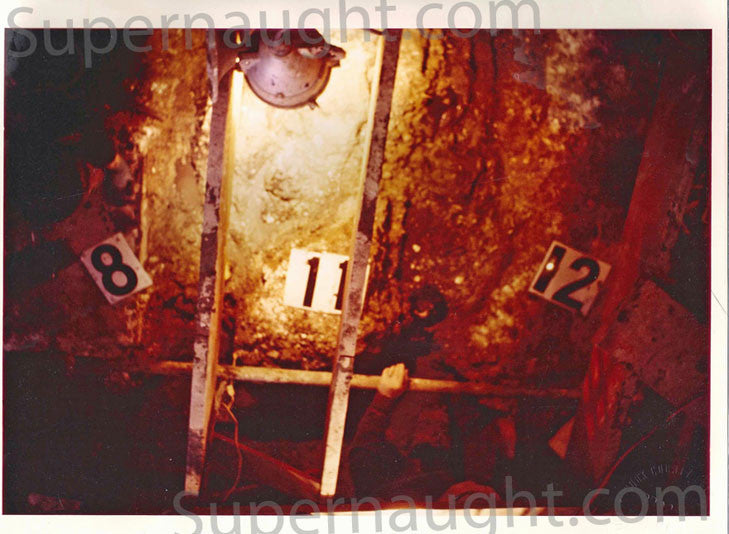 John Wayne Gacy crawlspace photo used at trial - Supernaught True Crime Collectibles
