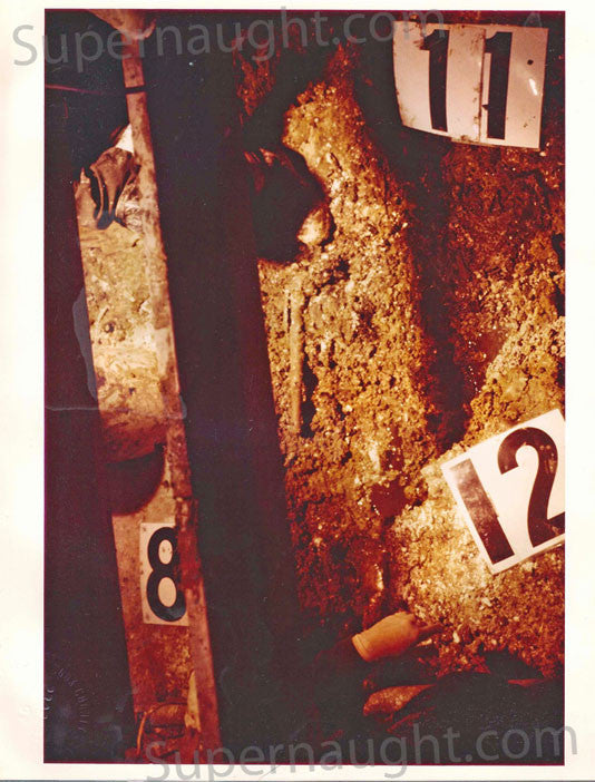 John Wayne Gacy crawlspace photo trial exhibit - Supernaught True Crime Collectibles