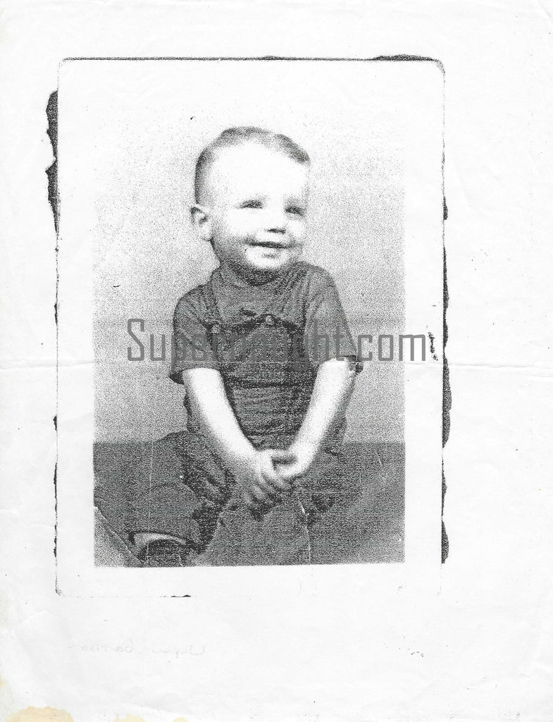 Wayne Garrison childhood photo