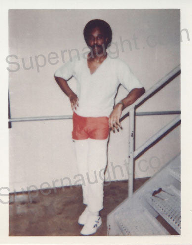 Carlton Gary photo taken on death row signed - Supernaught True Crime Collectibles - 1