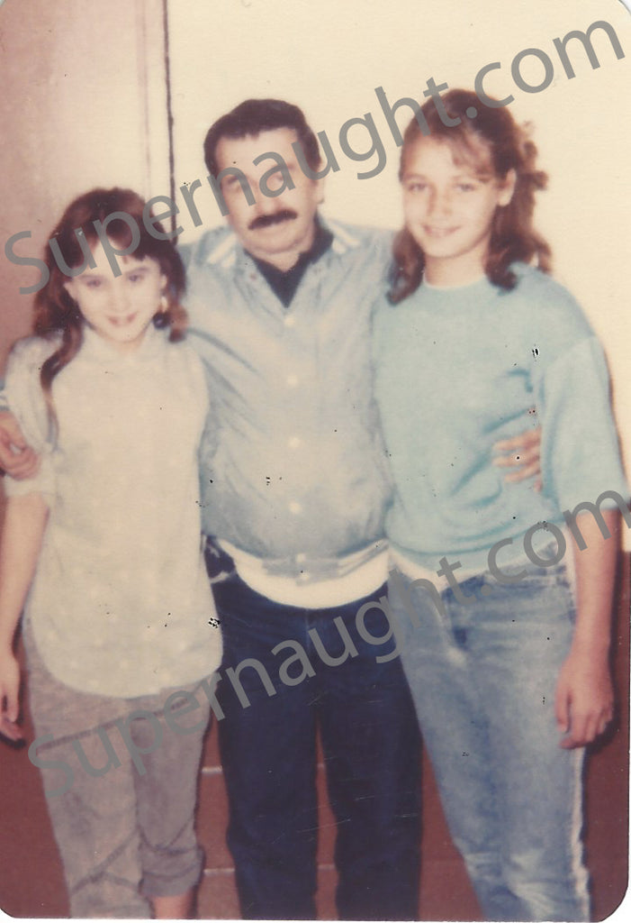 Donald Pee Wee Gaskins Prison Photo with Granddaughters