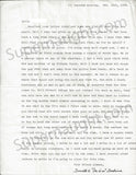 Donald Pee Wee Gaskins 1988 letter signed with envelope - Supernaught True Crime Collectibles - 1